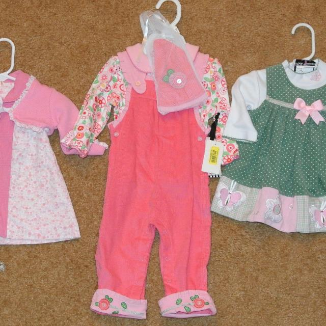 cb3d38708 Find more Reduced! $8 Lbc 6/25 Lot #7 Baby Girl Clothes Very Nice ...