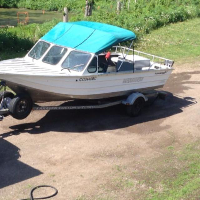 2001 19ft welded aluminum MARATHON inboard jet boat w/ Mercury sport jet  175 hp  Priced to sell and ready to go @ $23,750 00