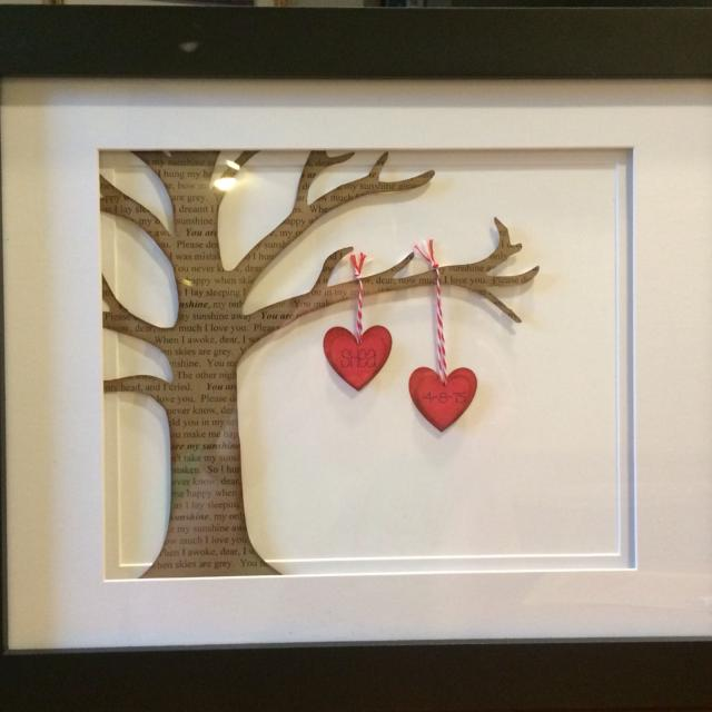 Best Personalized 11 X 14 Framed Tree For Sale In Karns Tennessee