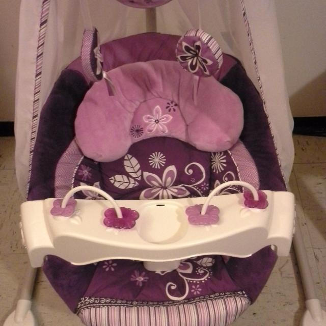 Best Fisher Price Sugar Plum Starlight Cradle N Swing For Sale In