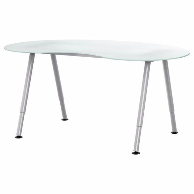 Best Ikea Kidney Shaped Gl Desk For In Mooresville North Carolina 2019