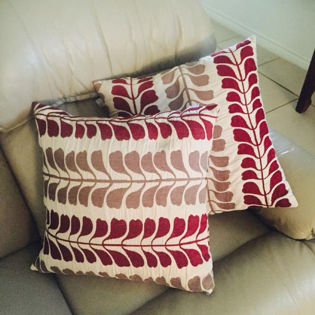 Find More Studio Chic Home Throw Pillows Cream Tan And Maroon New Maroon Decorative Pillows