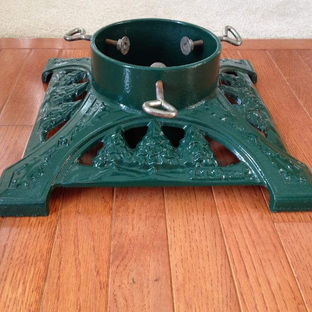 Find More Llbean John Wright Green Cast Iron Xmas Tree Stand For