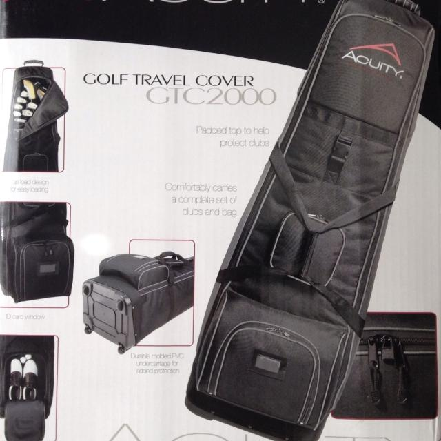 Acuity Golf Travel Bag With Wheels