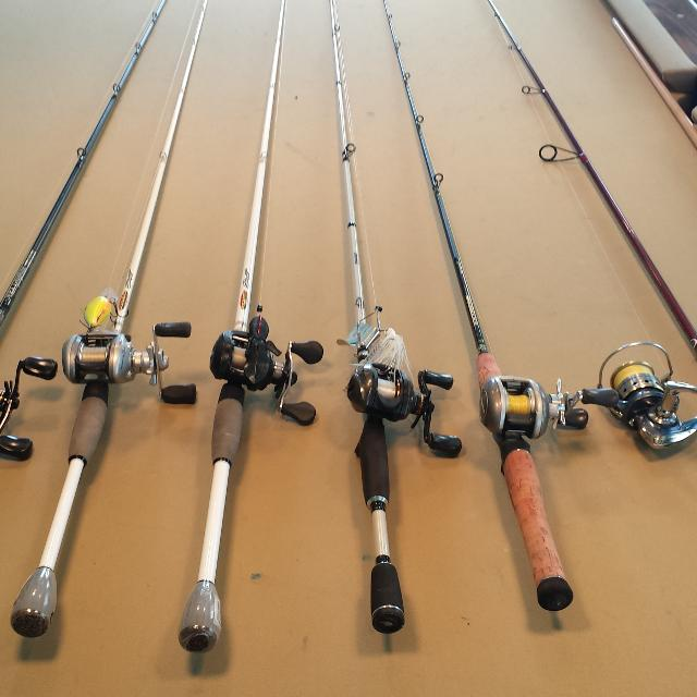 Best Baitcaster Rods An Reels for sale in Paris, Kentucky for 2020