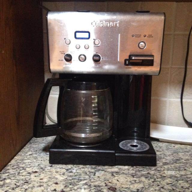 Cuisinart 12 Cup Coffee Maker With Instant Hot Water Dispenser Bought In December Excellent