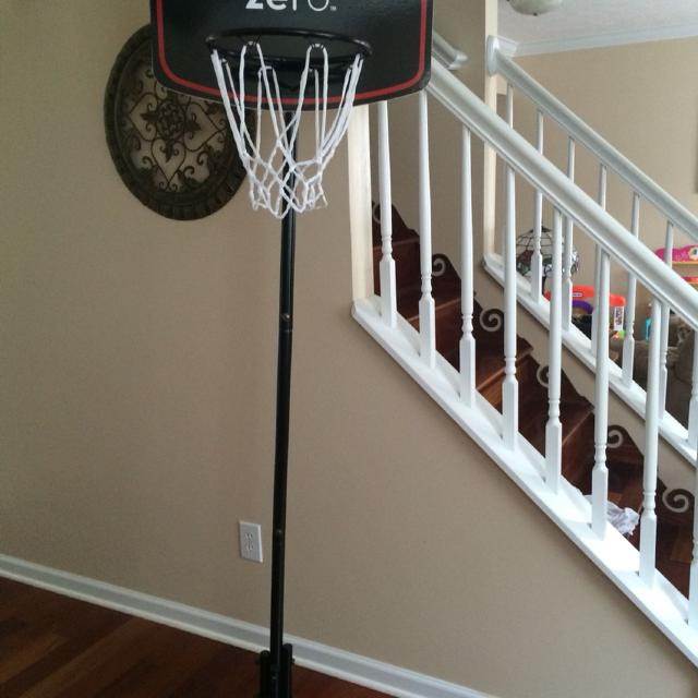 Find more Coke Zero Indoor Basketball Goal. Never Used. for sale at ...