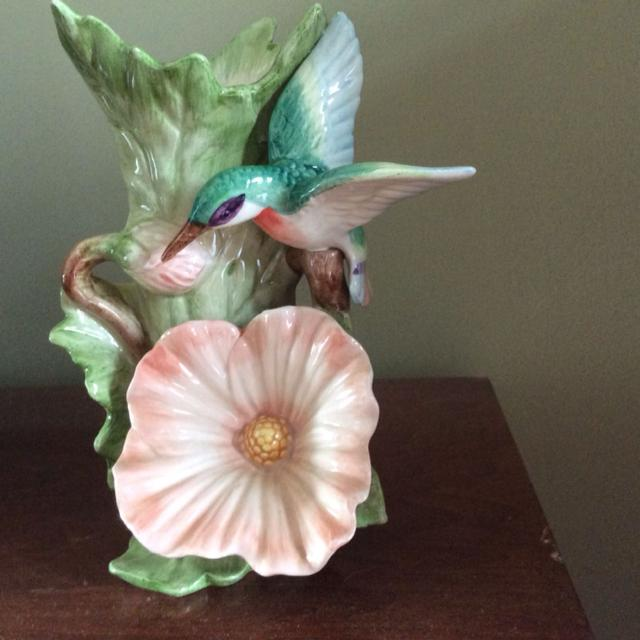 Best Fitz And Floyd Hummingbird Vase For Sale In Mountain Brook