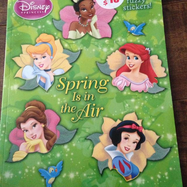 Find more Disney Princess Spring Is In The Air Coloring Book With ...