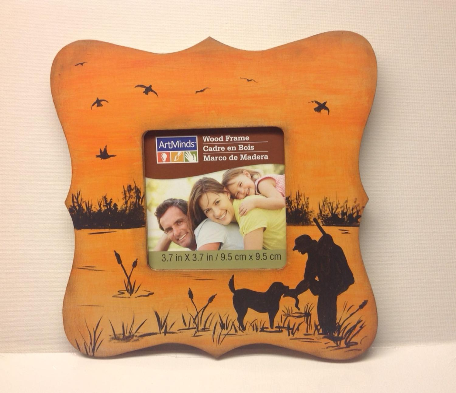 Find more Hand Painted Duck Hunting Picture Frame. Perfect For ...