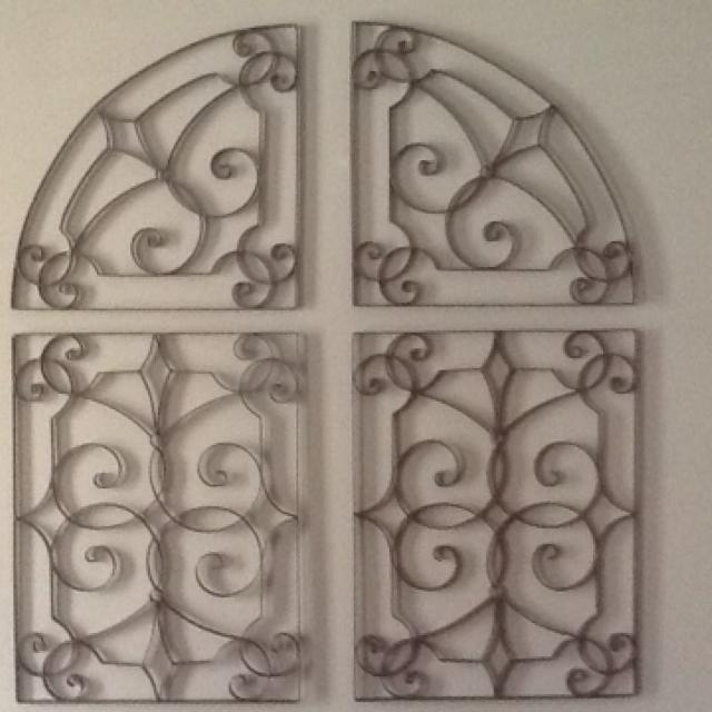 Southern Living At Home Metal Wall Art 4 Piece Set