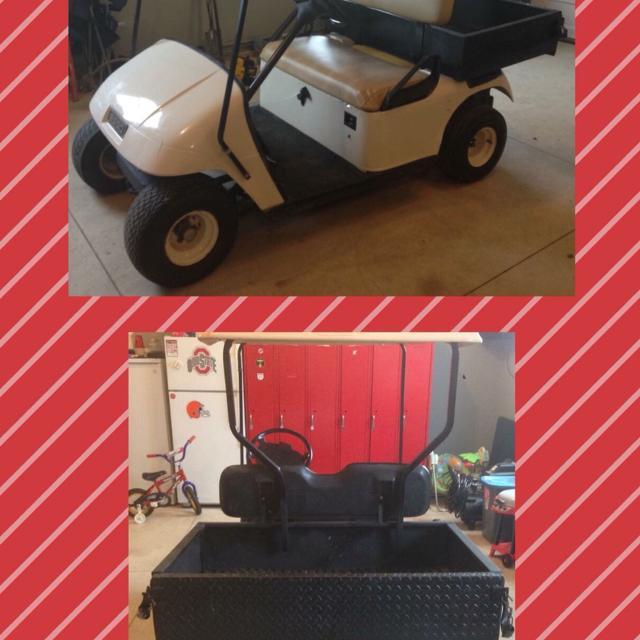 Best $2,000 Gas Golf Cart. 1995 Ezgo. Tail Gate Goes Down. Has Truck on 1993 golf cart, camo golf cart, yamaha electric golf cart, 1994 golf cart, 2 cylinder golf cart, yamaha sun classic golf cart, jack it up golf cart, ezgo gas golf cart,