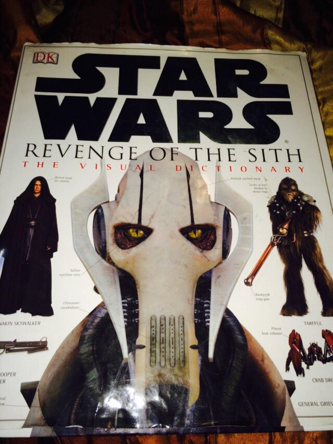 Best Star Wars Revenge Of The Sith Hardback It S A Visual Dictionary For Sale
