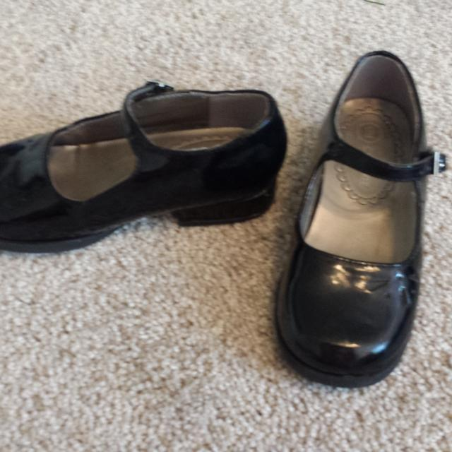 Christmas Shoes For Girls.Girls Size 9 Black Patent Dress Shoes Christmas Shoes