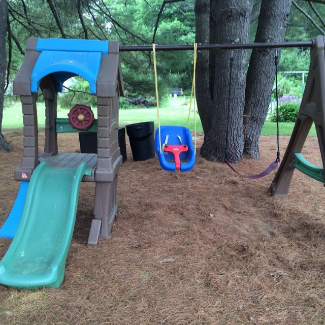 Find More Step Two Swing Set For Sale At Up To 90 Off
