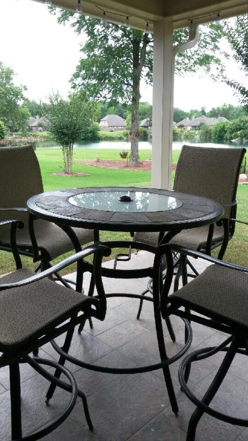 Find More Allen Amp Roth Safford Bar Table And 4 Chairs For