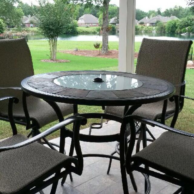 Bar Table And Chairs For Sale: Find More Allen & Roth Safford Bar Table And 4 Chairs For