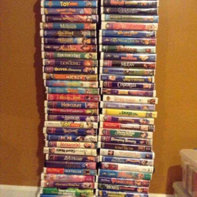Best 70 Vhs Tapes Mainly Disney Movies 200 Each Or Take Them All For 12500 Pm Specific Ones Available Sale In Paola Kansas 2019