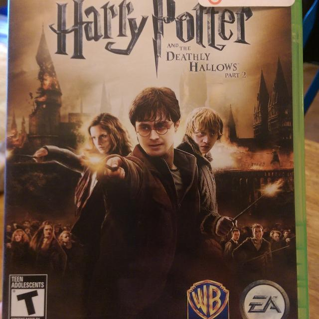 Xbox 360 Harry Potter and the Deathly Hallows part 2 game