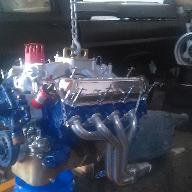 Best Big Block 460 Ford Engine With A C6 Transmission For