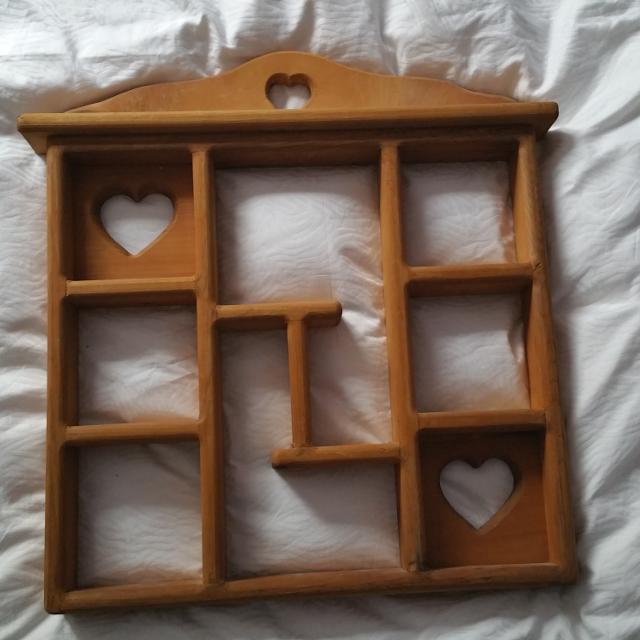 Wooden Shelf For Nick Nacks