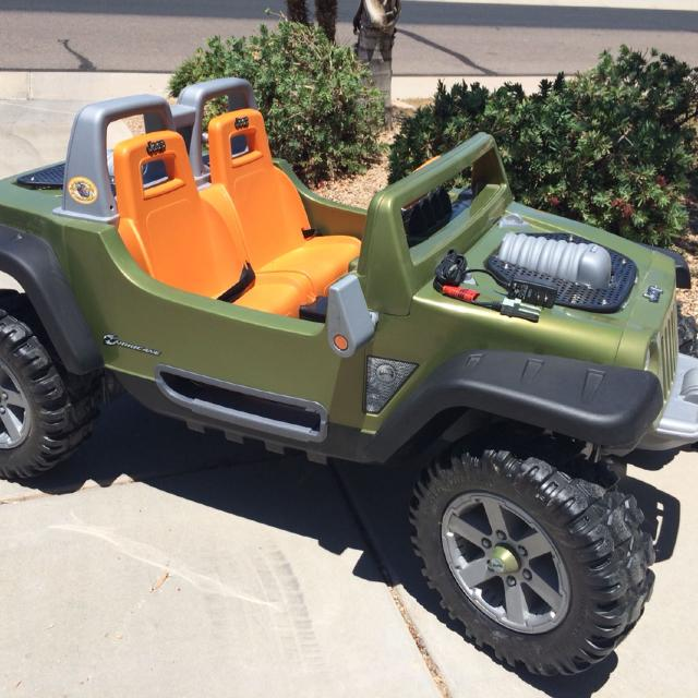 find more power wheels jeep hurricane! with monster traction! price