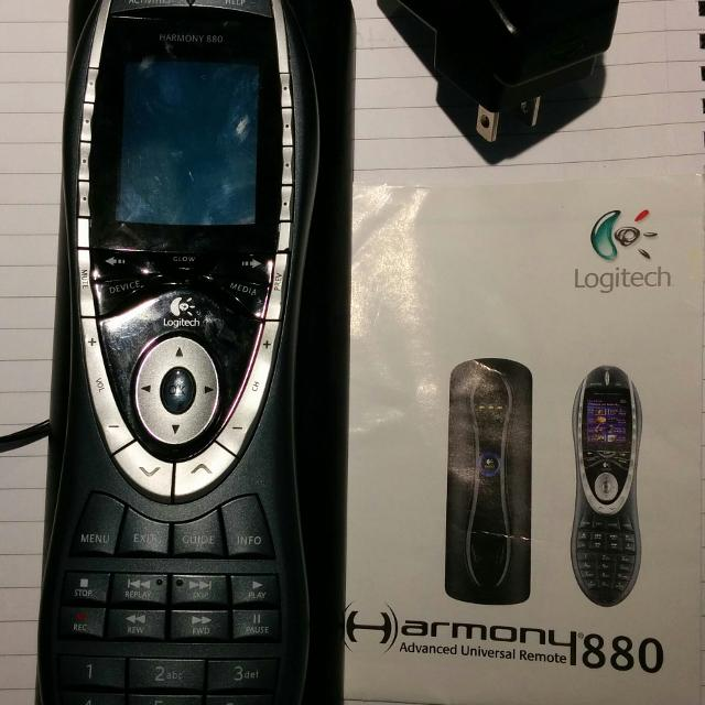 93f2eeae789 Find more Euc. Logitech Harmony 880 Universal Lcd Remote. for sale ...