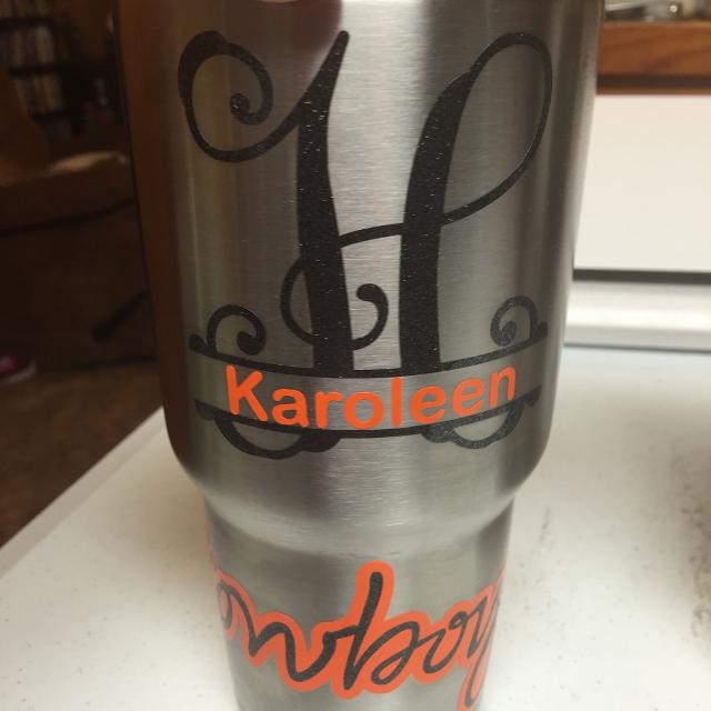 Personalized Yeti Cups 20oz Cups Decorated 50 And 30oz Cups 60
