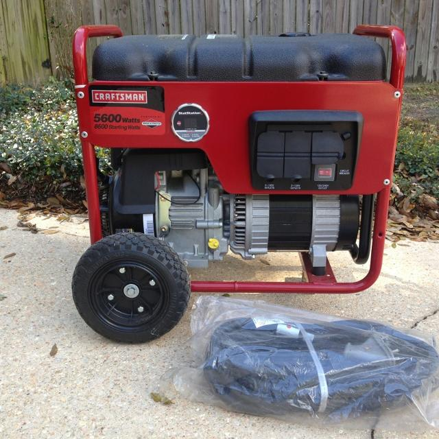 craftsman generator 5600 used