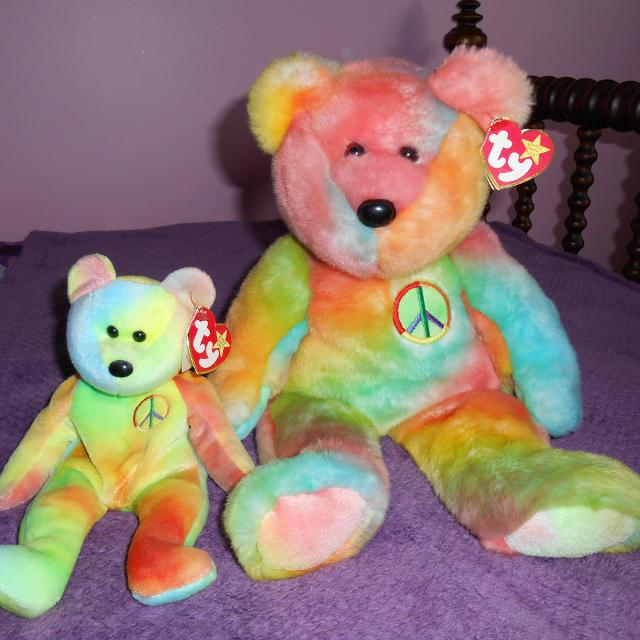 Find more Ty Beanie Buddy And Beanie Baby Tie-dye
