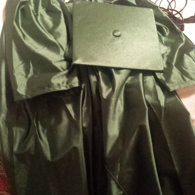 Pensacola state College cap and gown