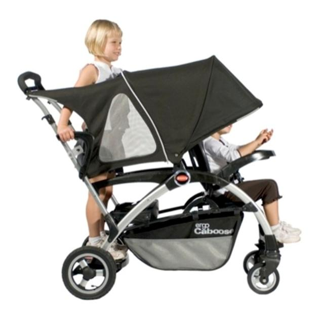 graco sit and stand double stroller manual