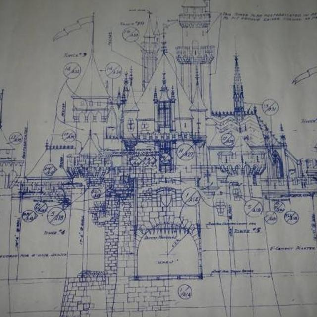Find more huge disneyland fantasy castle blueprint for sale at up to huge disneyland fantasy castle blueprint malvernweather Gallery