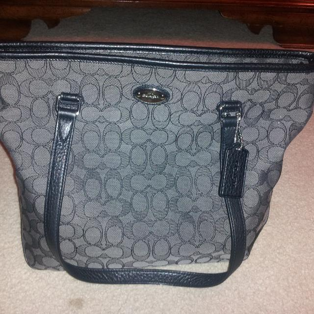 Real Coach purse used once too small for me text me if interested at 717  587-3674 will meet at AcMoore in lancaster