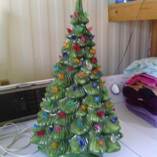 Homemade Ceramic Christmas Tree