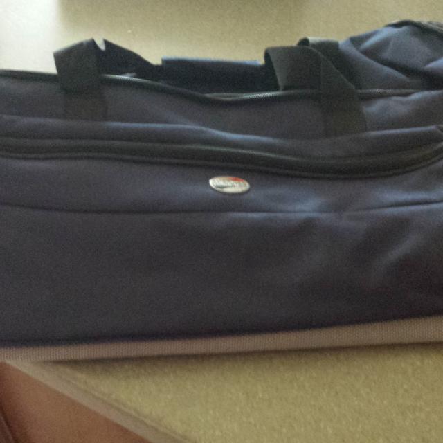 Rolling Hard Bottom Duffle Bag