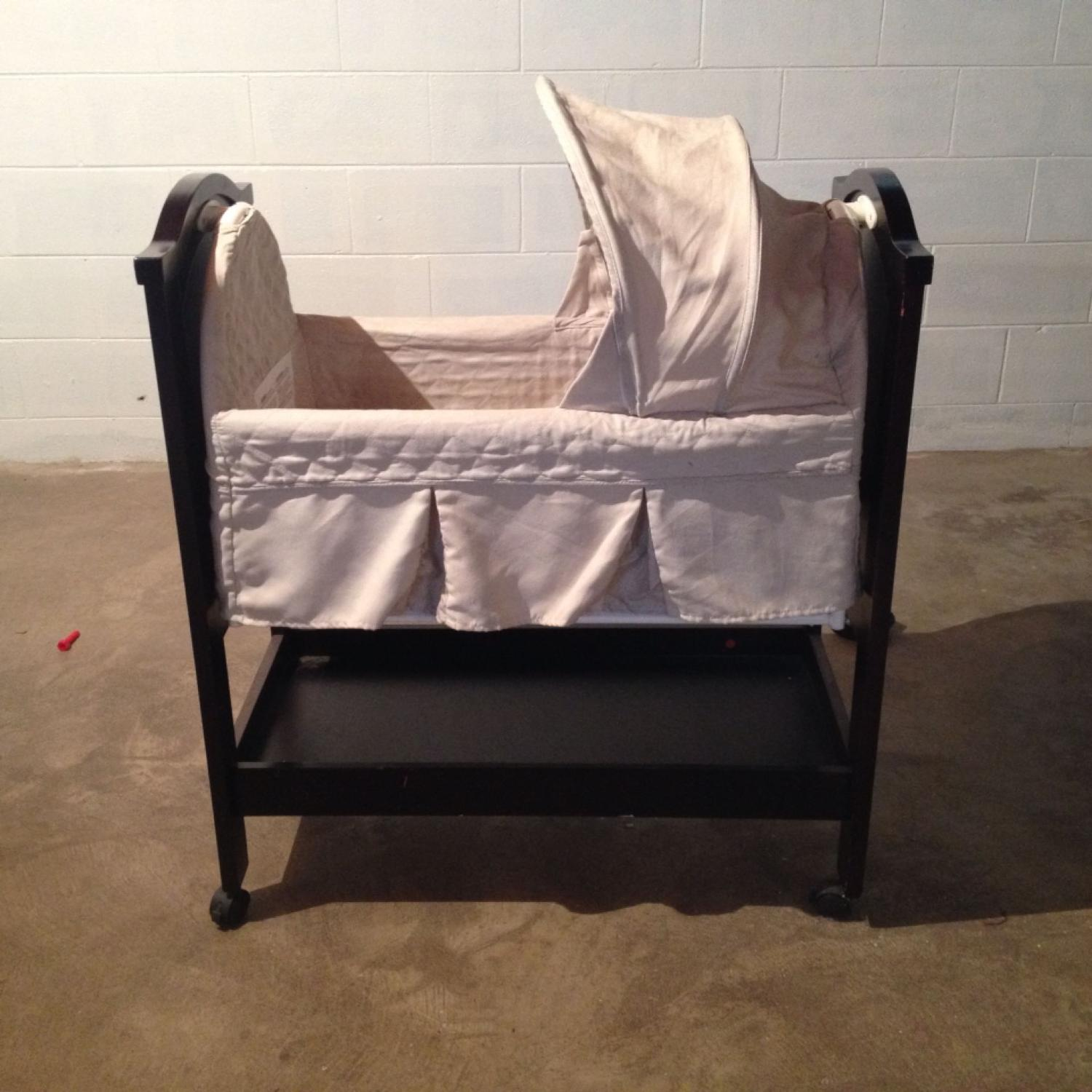 Find More Eddie Bauer Cherry Wood Bassinet For Sale At Up To 90 Off