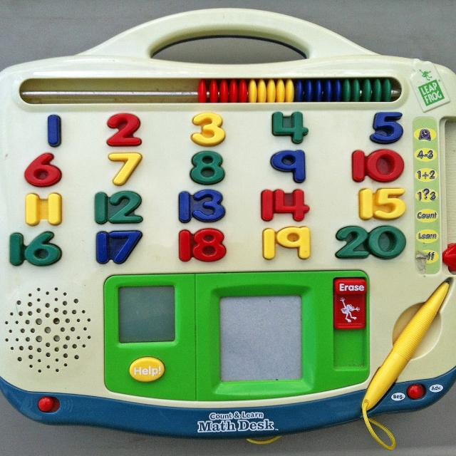 Leapfrog Count Learn Math Desk