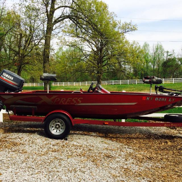 Best For Sale: 1997 Xpress 18ft Aluminum Bass Boat for sale in