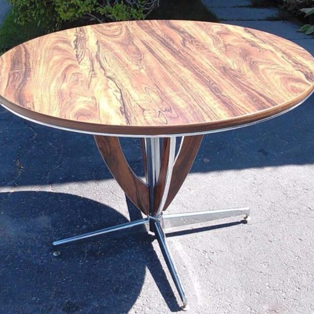 Find More Vintage Mid Century Modern Arborite Formica Chrome - Mid century modern formica table