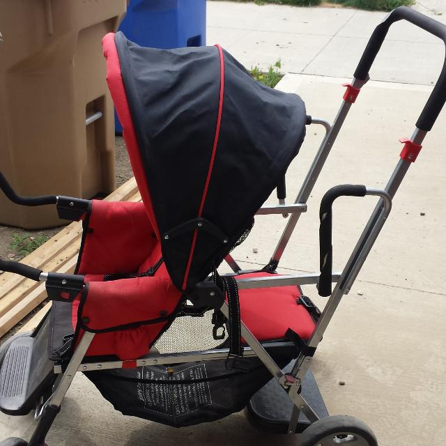 Find more Joovy Caboose Sit And Stand Stroller. Includes Universal ...