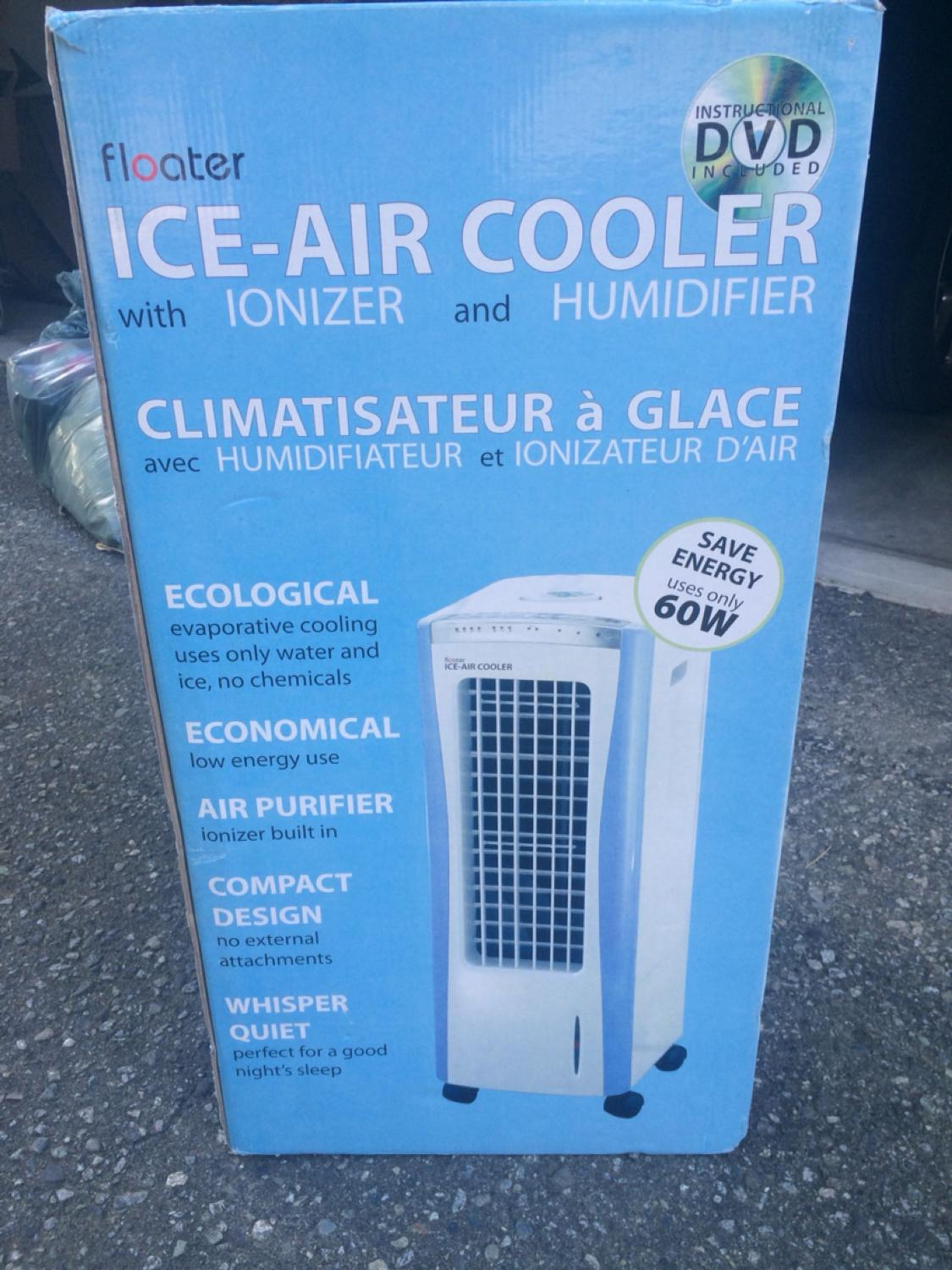 Find More Floater Ice Air Cooler Air Conditioning Made