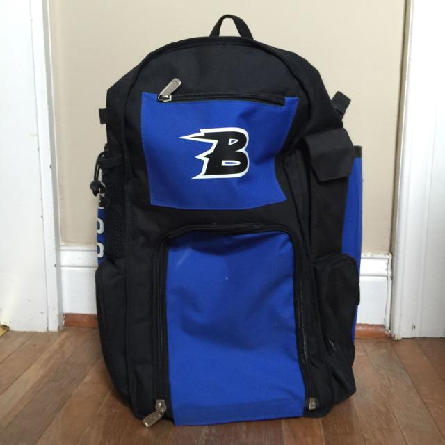 Boombah Bat Bag Brand New Never Used Will Hold 4 Bats Helmet Cleats And