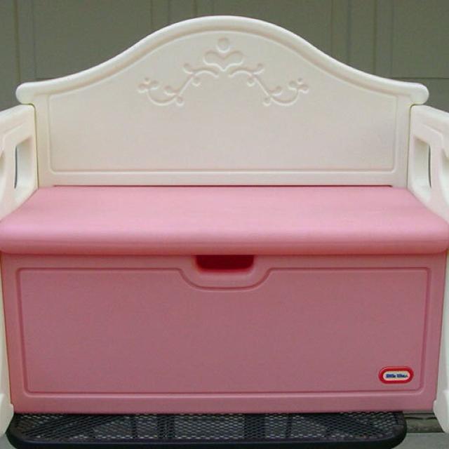 acrylic bench legs footstool faux fluffy u fur pink