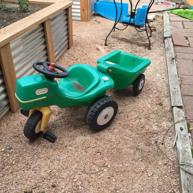 Little Tikes Wagon Parts : Little tikes tractor and wagon the