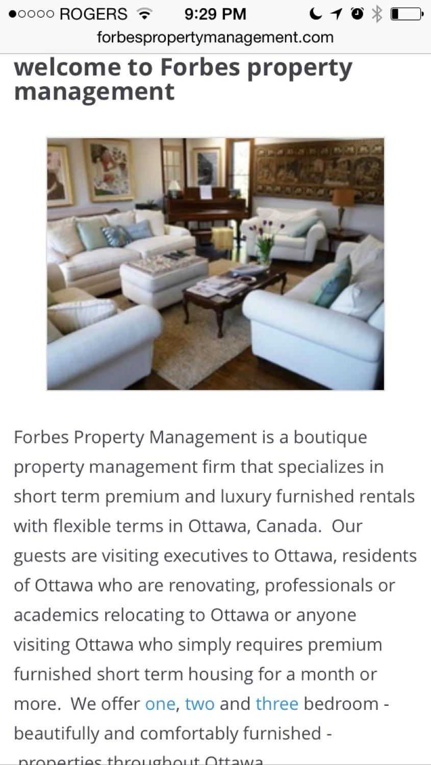 Best Forbes Property Management for sale in Ottawa, Ontario for 2018