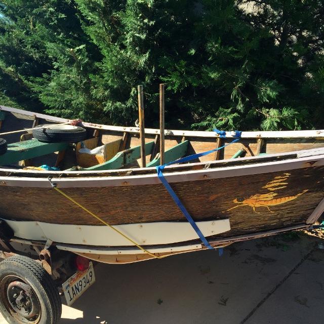 Free Old Wood Drift Boat