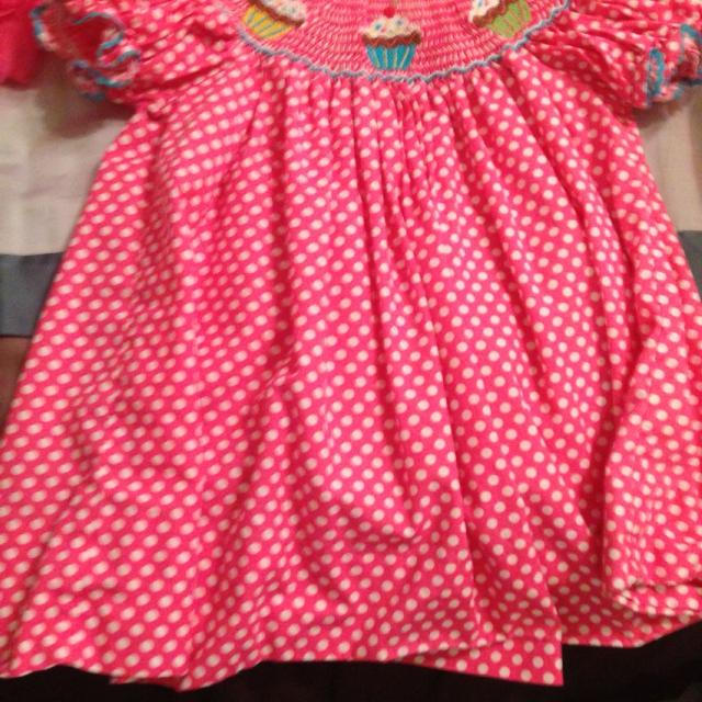 f847ca21071c Find more Velani Classics 12m Cupcake Smocked Dress. for sale at up ...