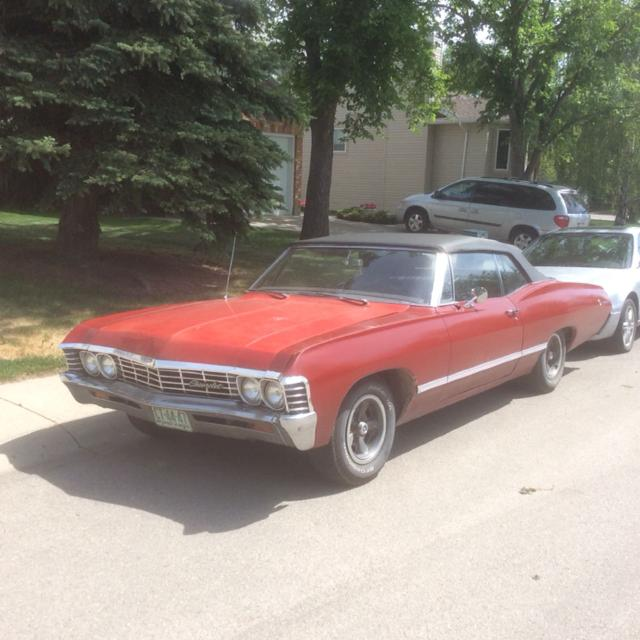 For Sale: 1967 Chevy Impala convertible