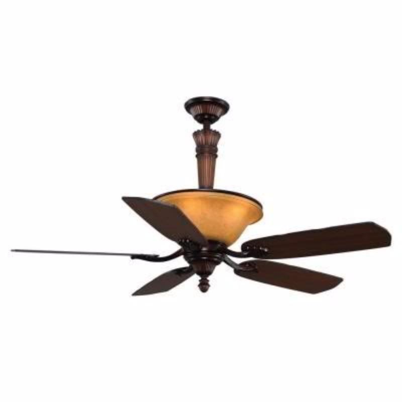 Find More Hampton Bay Ansley 52 Quot Aged Bronze Ceiling Fan